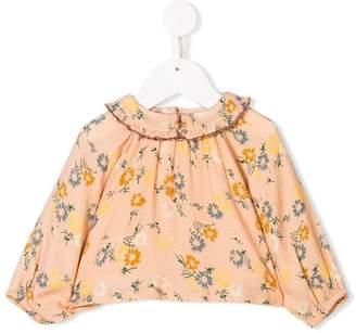 Caramel Bee baby blouse