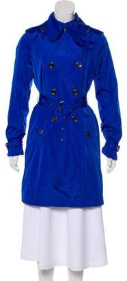 Burberry Belted Double-Breasted Coat