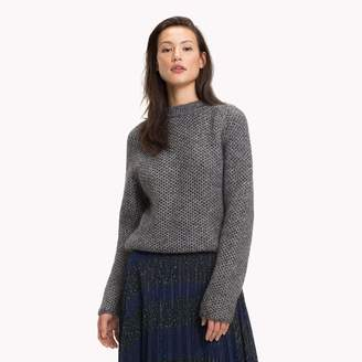 Tommy Hilfiger Shimmer Honeycomb Sweater