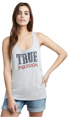 True Religion WOMENS HERITAGE RACERBACK TANK