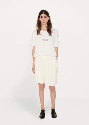 Phoebe English Slanting Shorts Cream