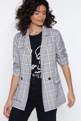 Nasty Gal Check You Later Relaxed Blazer