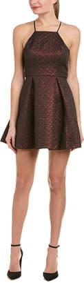 BCBGeneration Jacquard A-Line Dress