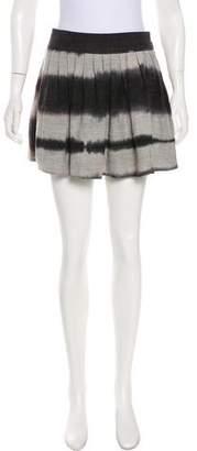 Kelly Wearstler Silk Dip-Dye Skirt