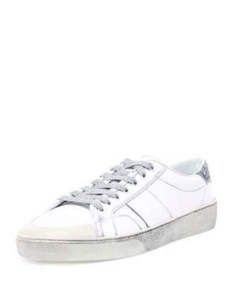 Pre-owned - Patent leather low trainers Saint Laurent ZEtL9cNx1v