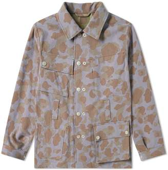 Nigel Cabourn Reversible Camo Jacket