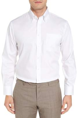 Nordstrom Traditional Fit Non-Iron Solid Dress Shirt