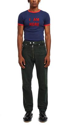 Gmbh Darveesh High Waist Biker Jeans