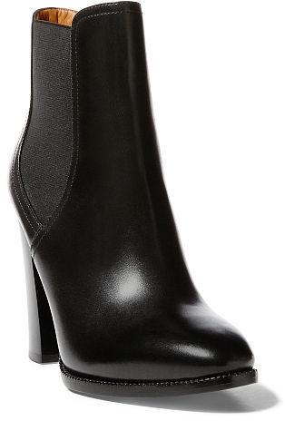 Ralph Lauren Hadria Calfskin Boot