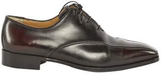 Leather flats