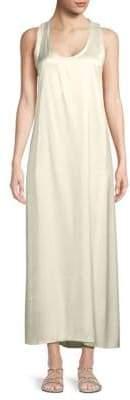 Helmut Lang Classic Satin Tank Dress
