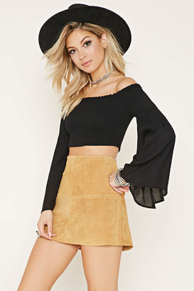 FOREVER 21+ Rise Of Dawn Crop Top $69 thestylecure.com