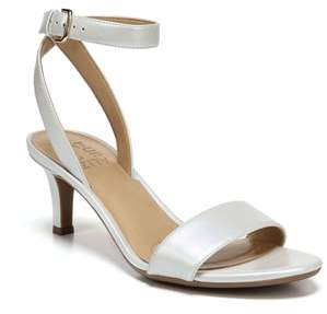c4f742ac3e5b Naturalizer White Heel Strap Sandals For Women - ShopStyle Canada