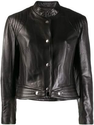 Isabel Marant cropped leather jacket