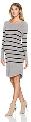 Ripe Maternity Women's Maternity Valerie Tunic Dress, Grey/Black, M