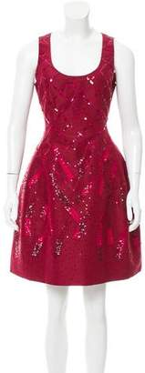 Prabal Gurung Silk Embellished Dress