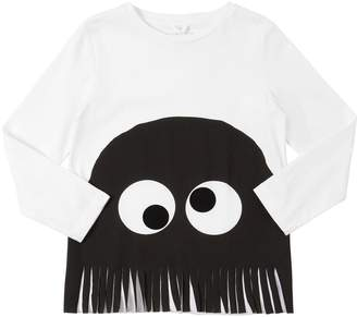 Stella McCartney Halloween Print Cotton Jersey T-Shirt