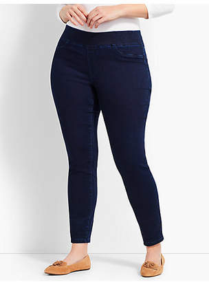 Talbots Plus Size Exclusive Comfort Stretch Denim Pull-On Jeggings - Spindrift Wash