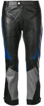 Zadig & Voltaire Zadig&Voltaire Piker Biker cropped trousers