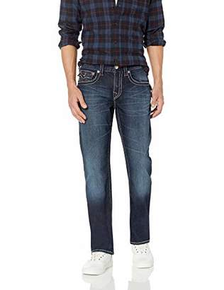 True Religion Men's Straight Jean with Flap