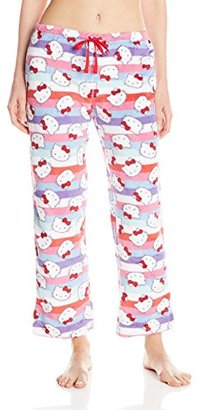 Hello Kitty Women's Warm and Toasty Rolled Pant $11.85 thestylecure.com