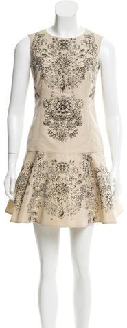 RED ValentinoRed Valentino Printed A-Line Dress