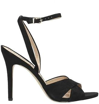 eac79f46e7a652 Sam Edelman Black Suede Sandals For Women - ShopStyle UK
