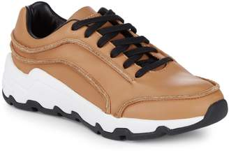 Opening Ceremony Leather Lace-Up Sneakers