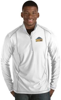 Antigua Men's Denver Nuggets Tempo Quarter-Zip Pullover