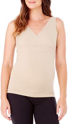 Ingrid & Isabel R) Crossover Maternity/Nursing Tank