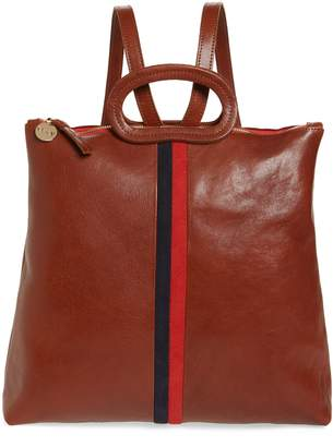 Clare Vivier Marcelle Leather Backpack