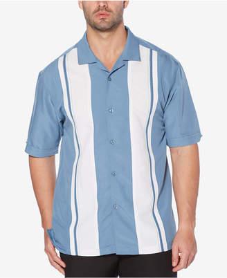 Cubavera Men's Big & Tall Panel Camp Shirt
