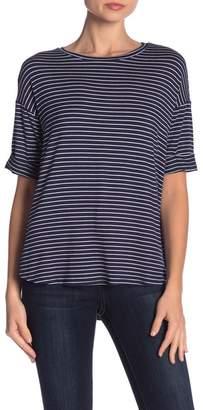 Olivia Moon Striped Short Sleeve Tee