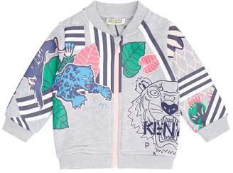 Kenzo Fantastic Jungle Zipped Sweater