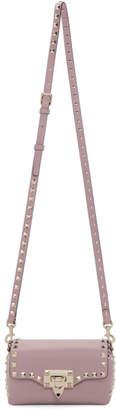 Valentino Pink Garavani Mini Rockstud Cross Body Bag