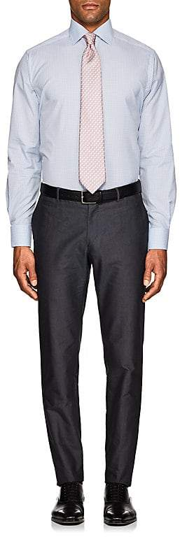 Eton MEN'S CHECKED COTTON DRESS SHIRT
