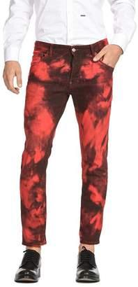 DSQUARED2 Maculato Tie-Dye Skater Pants