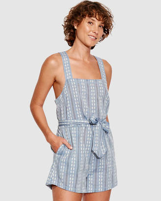 Seafolly Splendour Dobby Stripe Romper