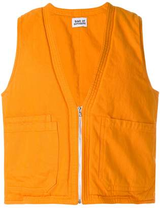 Band Of Outsiders padded waistcoat