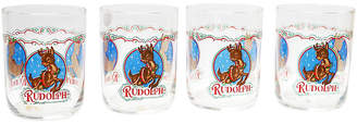 One Kings Lane Vintage Rudolph Tumblers - Set of 4