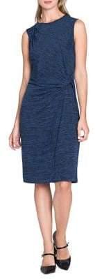 Nic+Zoe Gathered Sheath Dress