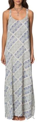 Women's O'Neill Tessie Print Maxi Dress $54 thestylecure.com