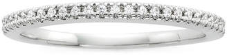 JCPenney MODERN BRIDE Modern Bride Signature 1/10 CT. T.W. Diamond 14K White Gold Wedding Band