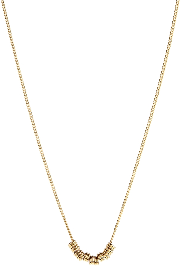 Asos Rings Necklace - Gold