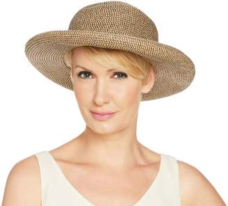 Co San Diego Hat Paperbraid Roll-Brim Hat with Buckle