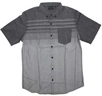 Burnside Men's Prime Short Sleeve Fashion Woven