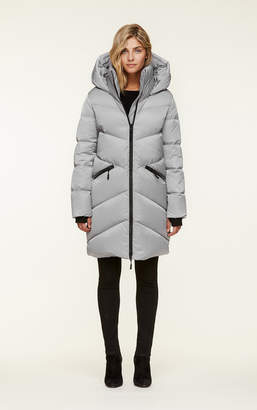 Soia & Kyo WENDELLE water-repellent straight fit sporty down jacket