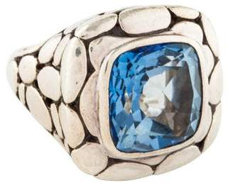 John Hardy Large Batu Kali Topaz Cocktail Ring