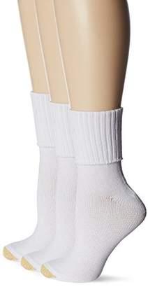 Gold Toe Women's Plus-Size Bermuda Socks (Pack of 3)