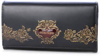 Artherapie (アルセラピィ) - アルセラピィ artherapie ローズジャルダン かぶせがま口長財布